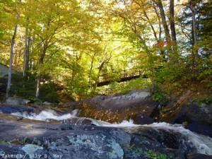 Stubb's Falls in Arrowhead Provincial Park, Ontario, 2012