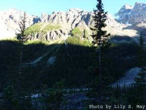 Dusk Approaching on Plain of Six Glaciers Trail, Sept. 2012