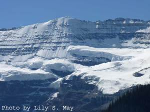 Glacier Above Lake Louise, Sept. 2012