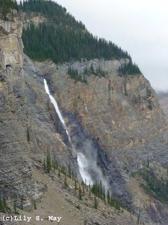 Takakkaw Falls, Sept. 2012