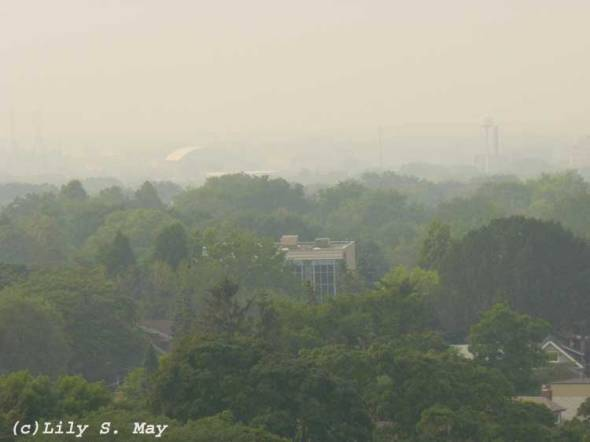 Smog Over Toronto