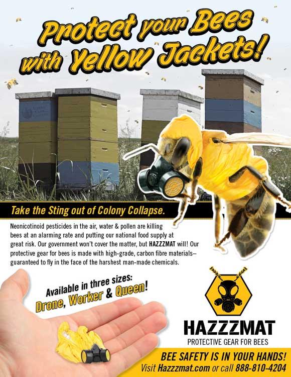 Bee Hazzmats
